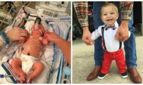 Boy Who Was Given 5 Percent Chance to Survive Celebrates First Birthday