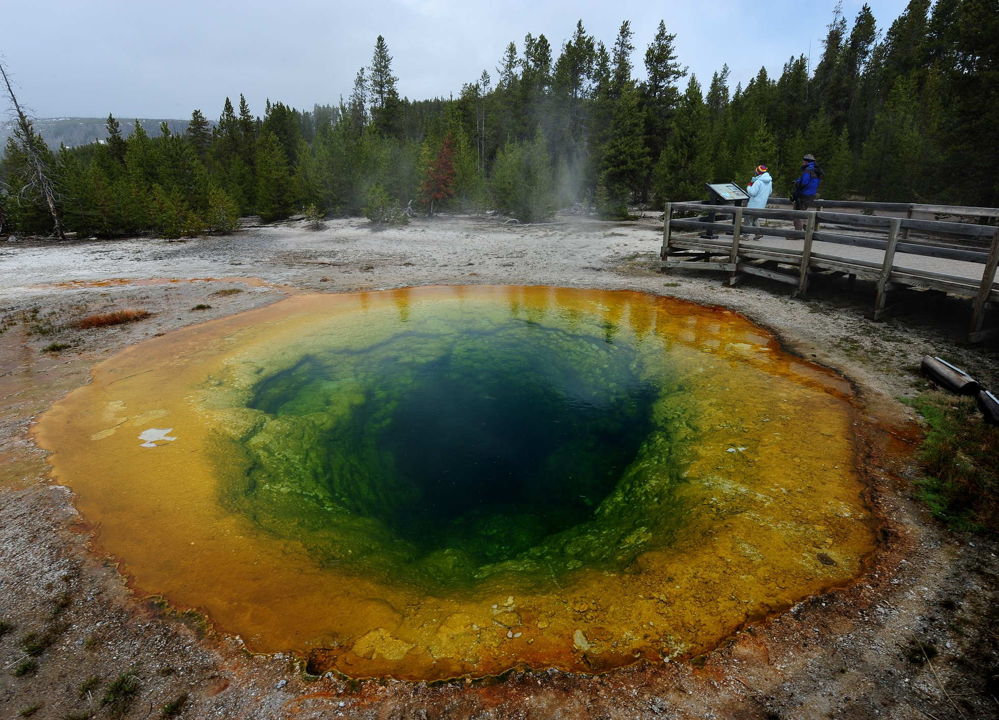 Yellowstone Geyser Vomits up 80 Years of Trash, Say Park Officials