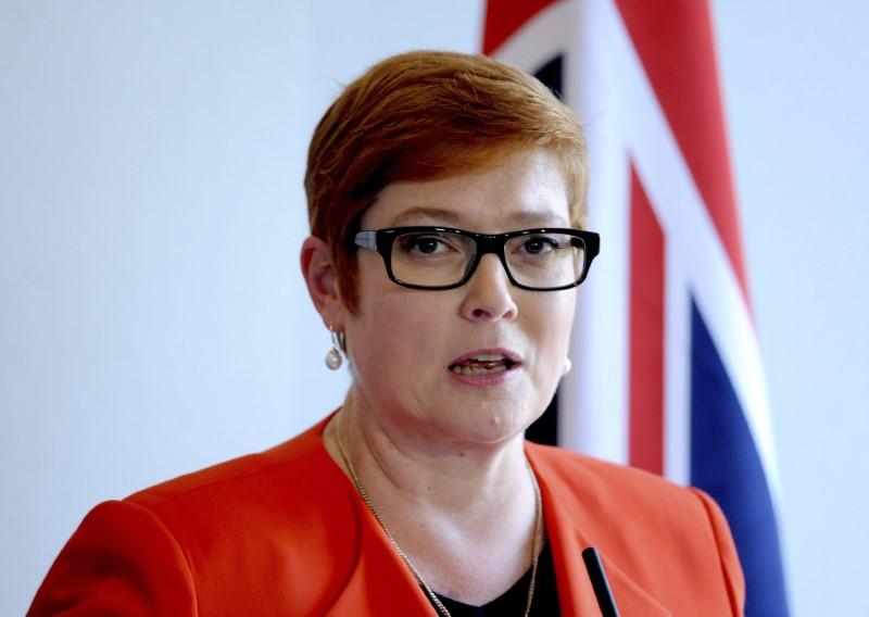 Australian Defence Minister Marise Payne