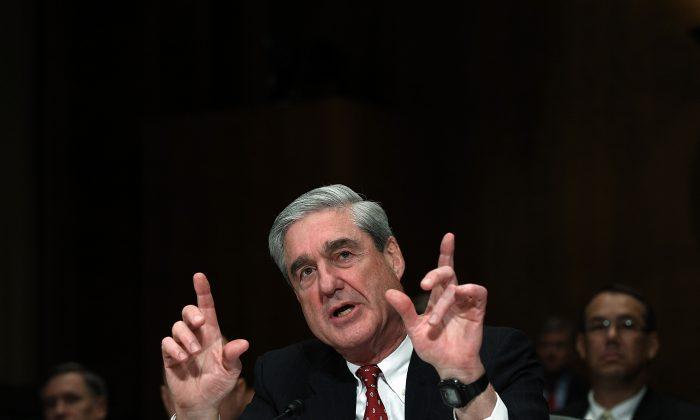 Robert Mueller III on Capitol Hill in Washington on Dec. 14, 2011. (Win McNamee/Getty Images)