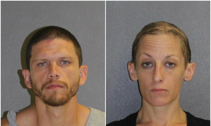 Sean Gannon and Kimberly McCaffrey. (Volusia County Corrections)