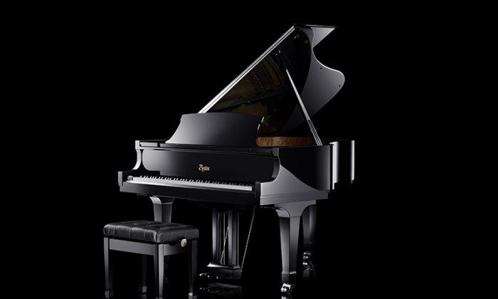 The 25th anniversary Boston piano. (Courtesy Steinway & Sons)