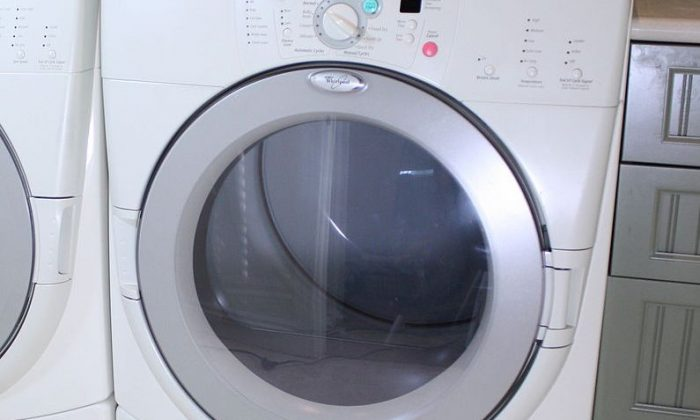 A stock photo of a dryer  (Rickharp at English Wikipedia / via  reative Commons Attribution 3.0 Unported license.)