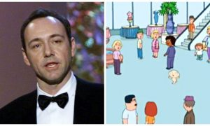 Family Guy Made Fun of Kevin Spacey 12 Years Ago