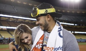 Houston Astros Player Proposes to Girlfriend After Winning World Series