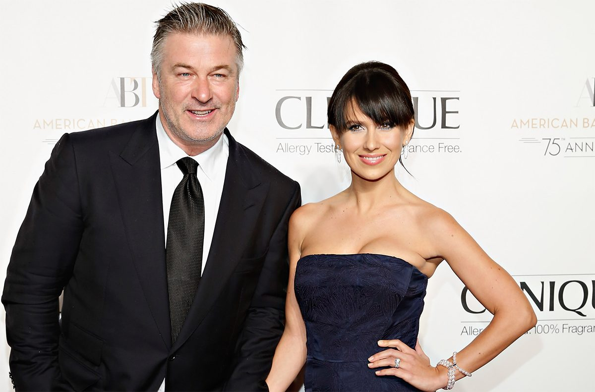Alec Baldwin and wife Hilaria Baldwin attend the American Ballet Theatre 2014 Opening Night Fall Gala at David H. Koch Theater at Lincoln Center on October 22, 2014 in New York City. (Cindy Ord/Getty Images)
