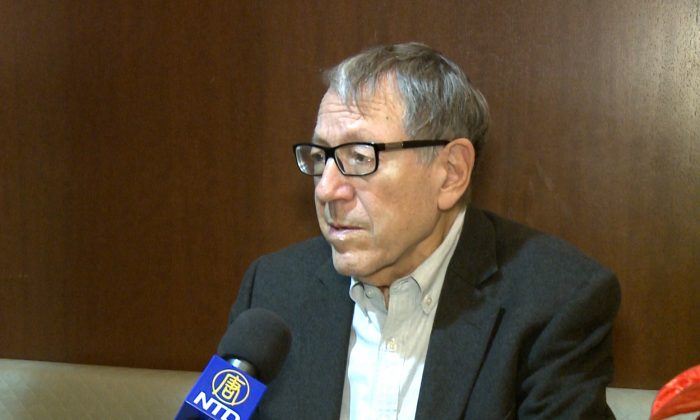 Former Liberal MP and minister of justice Irwin Cotler. (Gerry Smith/NTD Television)