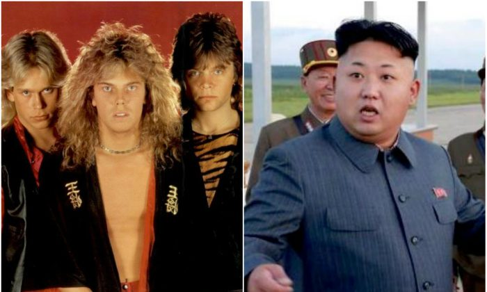 """A hacker has hijacked North Korea's short-wave station, playing """"The Final Countdown"""" by the Swedish rock band """"Europe."""""""