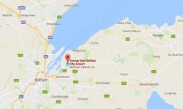 Plane Crash-lands Without Nose Gear in Northern Ireland