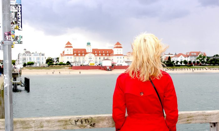 A view of the seaside town, Binz, on the island of Rügen. (Janna Graber)