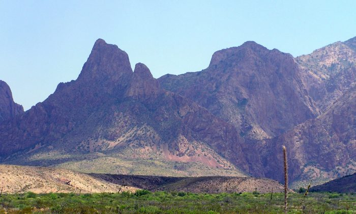 The Chisos Mountains are the heart of Big Bend National Park. (National Park Service Digital Image Archives/Public Domain)