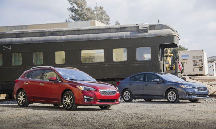 2017 Subaru Impreza hatchback and sedan. (Courtesy of Subaru)
