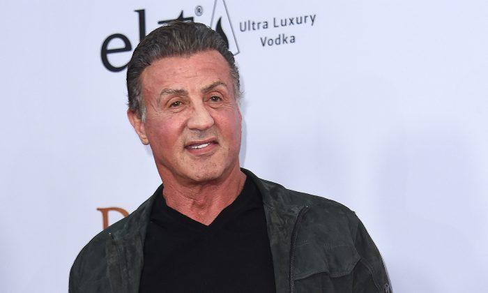 Sylvester Stallone attends the premiere of 'The Promise' at the Chinese theatre in Hollywood, on April 12, 2017. (Chris Delmas/AFP/Getty Images)