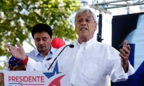 Former Leader Pinera Seen as Favorite as Chileans Vote for President