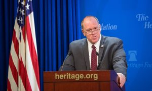 Nominated ICE Director Thomas Homan Talks About Smugglers, Sanctuary Cities