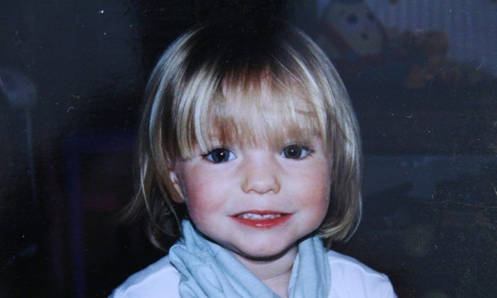 Photo of missing Madeleine McCann released Sept. 16, 2007. (Handout/Getty Images)