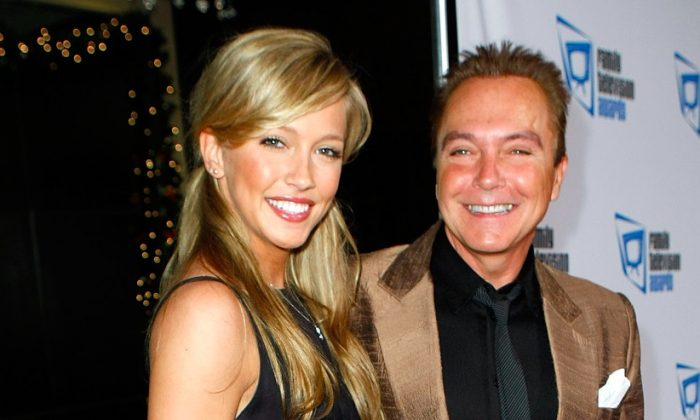 Singer/actor David Cassidy (R) and his daughter Katie Cassidy arrive at the 9th annual Family Television Awards held at the Beverly Hilton Hotel on November 28, 2007 in Los Angeles, California. (Michael Buckner/Getty Images for Family TV Awards)