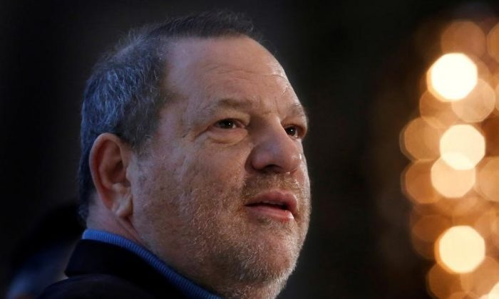 Harvey Weinstein speaks at the UBS 40th Annual Global Media and Communications Conference in New York, NY, U.S. on Dec. 5, 2012.    (Reuters/Carlo Allegri/File Photo)