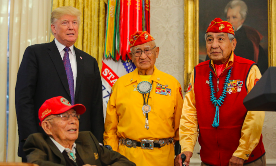 WWII Navajo Code Talkers Honored at White House