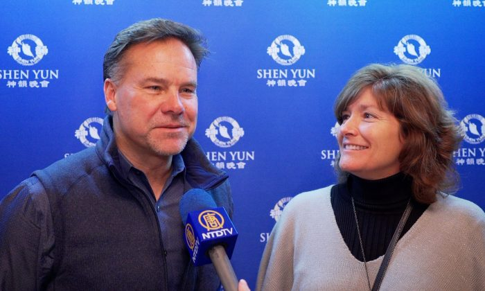 Real Estate Developer Excited to See Shen Yun With Wife And Daughter