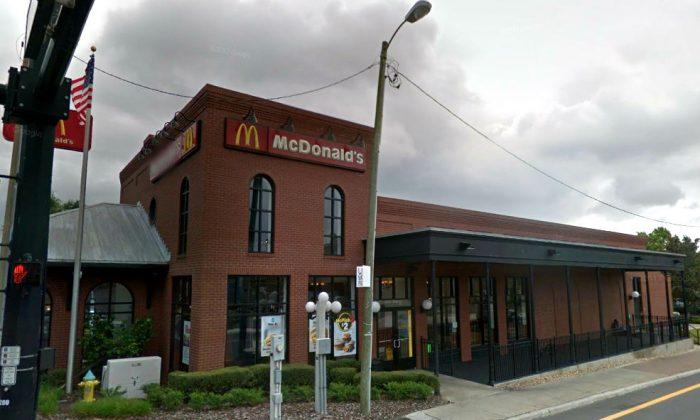McDonald's restaurant in Ybor City, Tampa, Fla. (Screenshot via Google Street View)