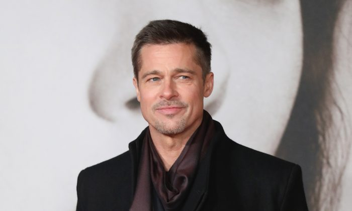 "Brad Pitt attends the UK Premiere of ""Allied"" at Odeon Leicester Square in London, England on Nov. 21, 2016 . (Tim P. Whitby/Getty Images)"