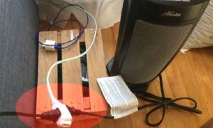 Warning: Don't Plug a Space Heater Into a Power Strip, Extension Cord