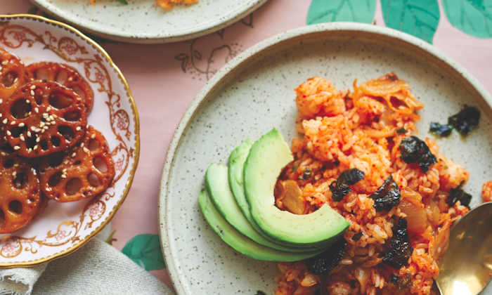 Kimchi Fried Rice. (Courtesy of Countryman Press)