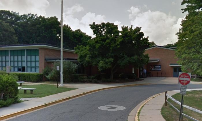 Taylor Elementary School in Arlington, Virginia. (Screenshot via Google Maps)