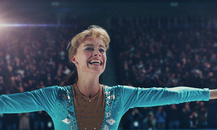 "Margot Robbie stars in ""I, Tonya,"" opening in theaters Dec. 8, 2017. (NEON)"