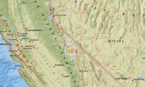 USGS: Earthquake Strikes Mammoth Lakes, Calif.