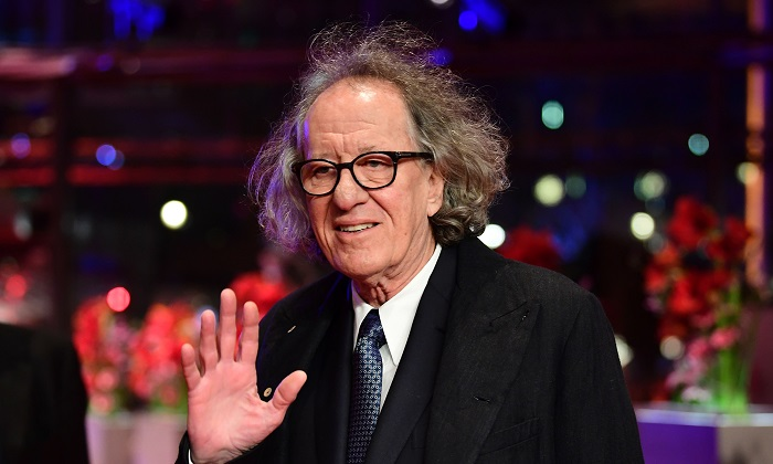 "Australian actor Geoffrey Rush arrives for the screening of the film ""Final Portrait"" out of competition at the 67th Berlinale film festival in Berlin on Feb. 11, 2017. (Tobias Schwarz/AFP/Getty Images)"