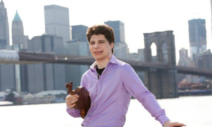 Violinist Augustin Hadelich in 2011. (Rosalie O'Connor )
