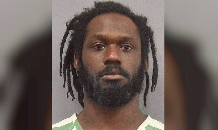 WWE wrestler Rich Swann after his arrest. (Gainesville Police Department)