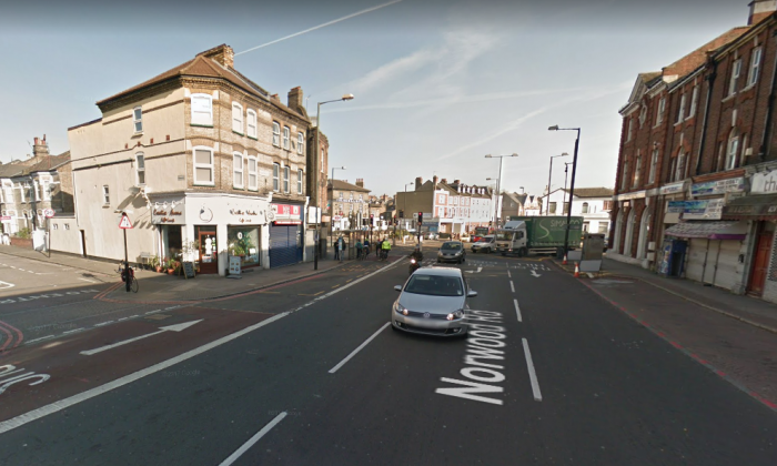 Emergency services were called to Norwood Road in Tulse Hill, south London, early on Monday, Dec. 11. (Screenshot via Google Maps)