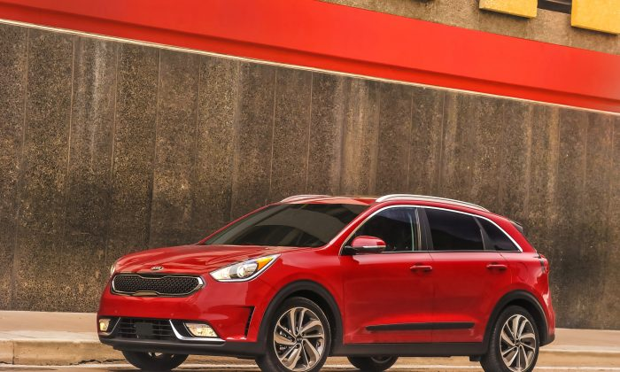2017 Kia Niro hybrid. (Courtesy of Kia)