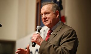 Roy Moore Files Lawsuit to Block Alabama Senate Election Until Voter Fraud Investigation Is Conducted