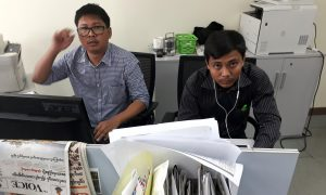 Two Reuters Journalists Arrested in Burma, Facing Official Secrets Charges
