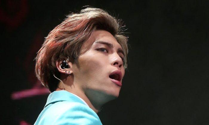 Kim Jong-hyun, lead singer of South Korean boy band Shinee. (Yonhap/via Reuters)