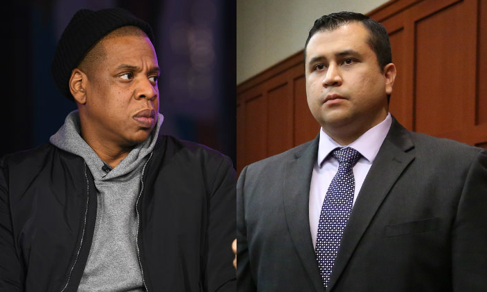 George Zimmerman threatened Jay-Z after his documentary production team tried to interview Zimmerman's family. (Photo by Dave Kotinsky/Getty Images for Spike) (Photo by Dave Kotinsky/Getty Images for Spike)