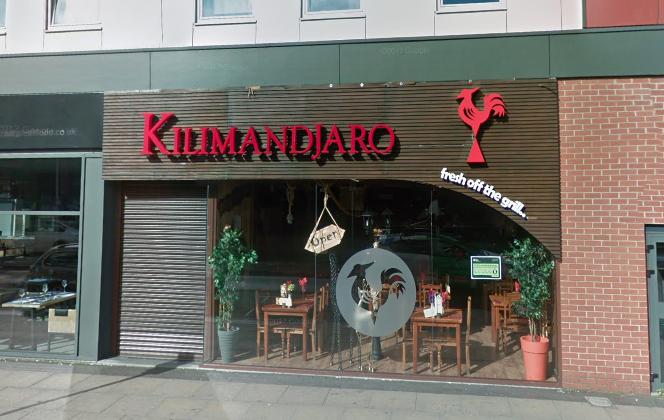 Kilimandjaro in Middlesbrough (Screenshot via Google Maps)