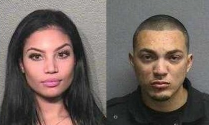 "Sierra Tarbutton and Michael ""Money Mike"" Cuellar. (Houston Police Department)"