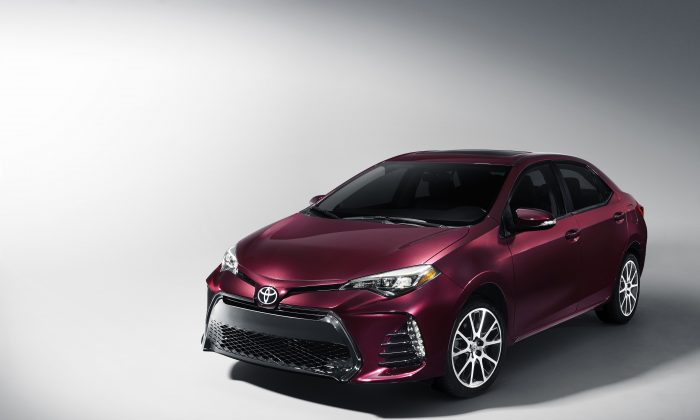 2018 Toyota Corolla. (Courtesy of Toyota)