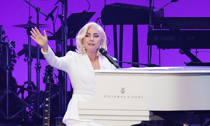 Lady Gaga has announced a Las Vegas residency. Here she performs onstage during the Deep from the Heart: The One America Appeal Concert at Reed Arena on the campus of Texas A&M University on Oct. 21, 2017 in College Station, Texas. (Rick Kern/Getty Images for Ford Motor Company)
