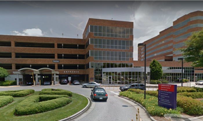 Forsyth Medical Center in North Carolina. (Screenshot via Google Maps)