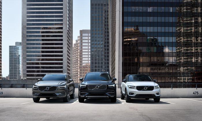 Volvo XC60, XC90 and XC40 (Courtesy of Volvo Car Canada)