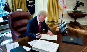 President Trump Signs Tax Bill Into Law