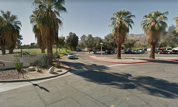 The entrance to Tahquitz Creek Golf Course. (Screenshot Via Google Maps)