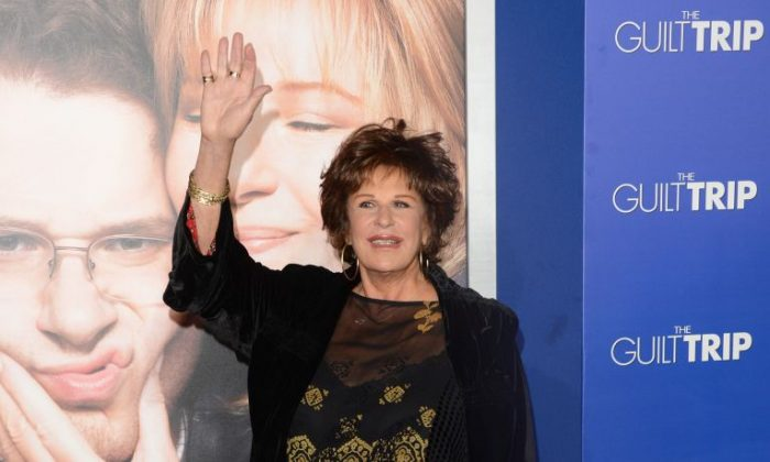 """Lainie Kazan attends the premiere of Paramount Pictures' """"The Guilt Trip at Regency Village Theatre on December 11, 2012 in Westwood, California. (Jason Merritt/Getty Images)"""
