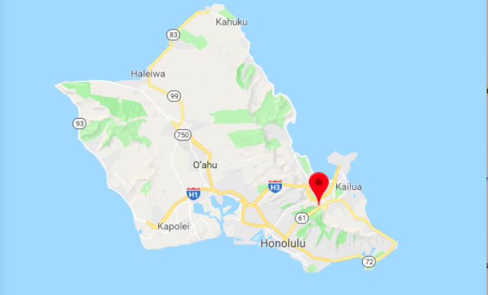 Two men from Honolulu, Hawaii, who have been friends for 60 years found out shortly before Christmas 2017 that they are also brothers. (Screenshot via Google Maps)